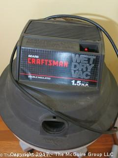 1.5 HP Craftsman Wet/Dry Vac