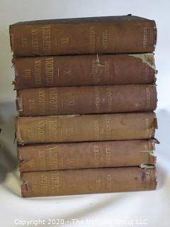 14 Volume Set of the American Encyclopedia