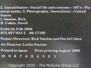 "Set of 2 ""A Day in the Life of America"", Photography books, 1986 Edition"