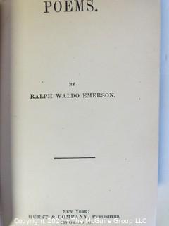 Four Vintage Books including Kipling and Emerson