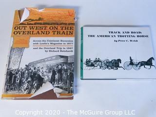 2 Vintage Hard Cover Books
