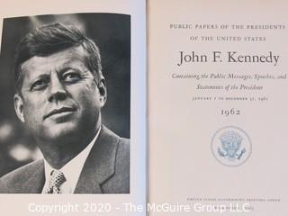Hard Cover Copy of Public Papers Of President John F Kennedy