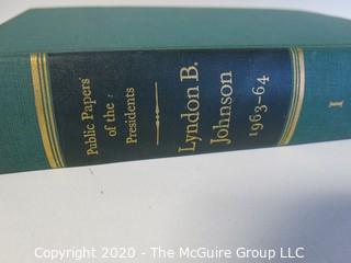 Hard Cover Copy of Public Papers Of President Lyndon Johnson