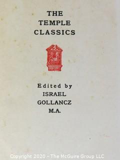 3 Volume Set, The Temple Classics - Dante
