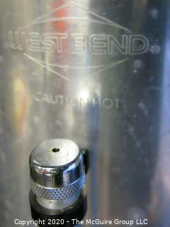 West Bend Commercial 55 Cup Aluminum Coffee Urn