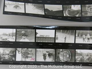 Group of Black & White Photos of Visit to Leitz Factory and Leica & Leicaflex Camera Course. Germany 1970