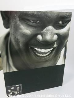 Large Format Black & White Photo, Mounted on Picture Board. Buster Mathis, circa 1960's; heavyweight boxer; by A. Rickerby