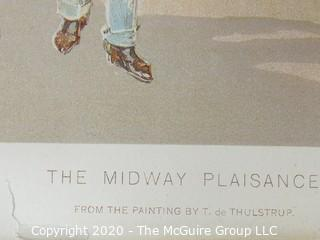 Color Print, The Midway Plaisance, Columbian Memorial Publications Society, 1894