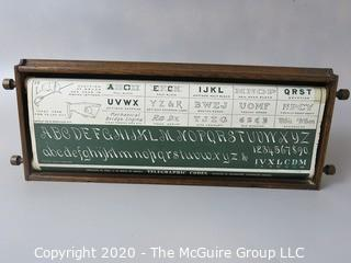 Chautauqua Industrial Educational Desk for Children by Lewis E Myers. For Teaching in the Home
