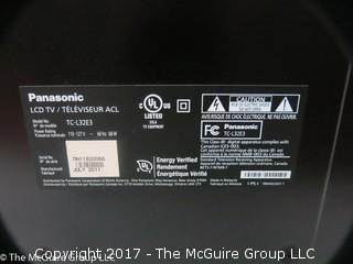 """Panasonic LCD TV; Model TC-L32E3 (32"""")"""