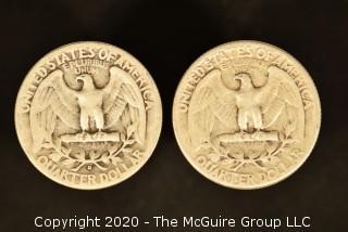 U.S. Collectible Coins: 1941-D Washington Quarter & 1941 Washington Quarter