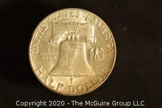 U.S. Collectible Coins: 1963 Franklin Half Dollar