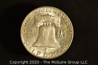 U.S. Collectible Coins: 1963-D Franklin Half Dollar