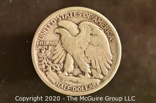 U.S. Collectible Coins: 1941 Walking Liberty Half Dollar