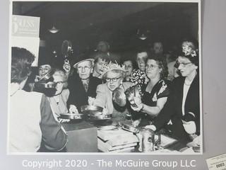 "Photo, Positive, Negative, B&W, Historical, Americana. Approximately 16"" X 20"" on Photo Board. A. Rickerby"