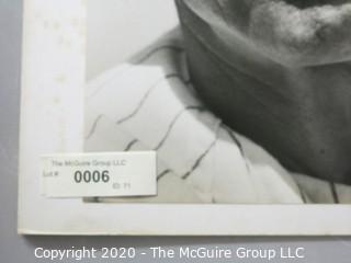 "Photo, Positive, B&W, Historical, Americana,Baseball. Approximately 16"" X 20"" on Photo Board."