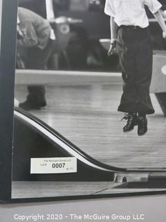 """Photo, Positive, B&W, Historical, Americana, Bowling. Measures approximately 16"""" X 20"""" on Photo Board."""