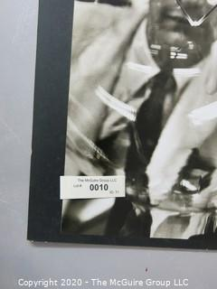 """Photo, Print, B&W, Historical, Americana, Science. Measures approximately 16"""" X 20"""" on Photo Board."""