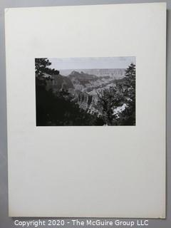 """Photo, Positive, B&W, Historical, Americana. Measures approximately 16"""" X 20"""" on Photo Board."""