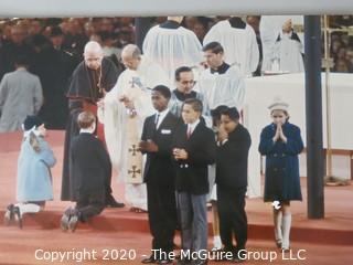 "Photo, Print, Color, Historical, Americana, Pope Pius Vi. Approximately 13"" X 19"" on Foam Board."