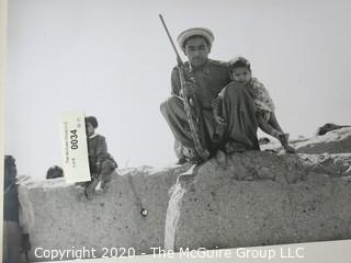 """Photo, Positive, B&W, Historical, by Rickerby for Life Magazine. Measures approximately 16"""" X 20"""" on Photo Board."""