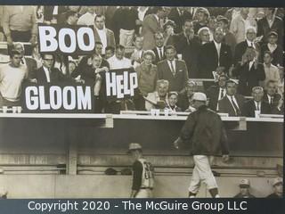 "Photo, Positive, B&W, Historical, Americana, Baseball. Measures approximately 16"" X 20"" on Photo Board."