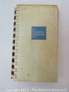 NBC News Vest Pocket handbook of 1977 Inaugural Week Festivities