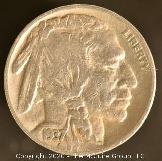 1937-S Buffalo Nickel