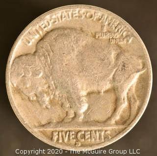 1934-D Buffalo Nickel