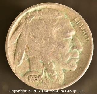 1934-D Buffalo Nickel