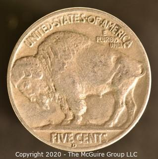 1937-D Buffalo Nickel