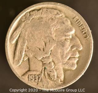 1937-D Buffalo Nickel