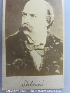 Cartes-de-Visite CDV Antique Cabinet Photo Card