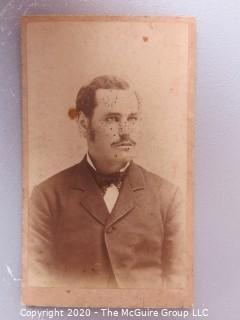 Cartes-de-Visite CDV Antique Cabinet Photo Card - Goodrich & Phear, Northeast PA