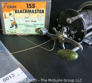 Vintage Penn 155 Beachmaster Star Drag Fishing Reel.