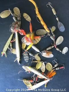 Lot of Vintage Fishing Lures.