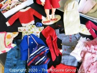 Vintage Ideal TAMMY Doll With Case, Clothing, & Accessories. (ADDITIONAL PHOTOS OF CLOTHES HAVE BEEN ADDED AS OF 03-16 @10:13 ET)