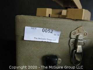 Alpex Viewette 8mm Film Editor in Case with Film Splicer.