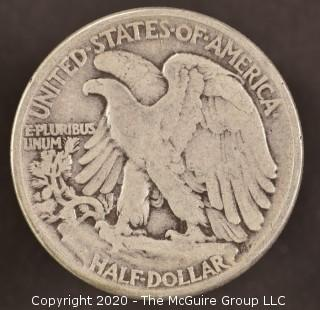 1945 Liberty Walking Half Dollar