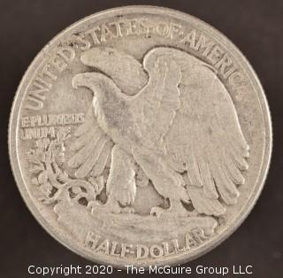 1945 Liberty Walking Half Dollar