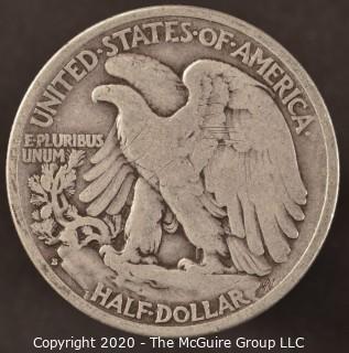 1939-S Liberty Walking Half Dollar
