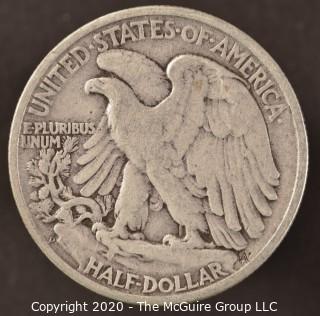 1946-D Liberty Walking Half Dollar