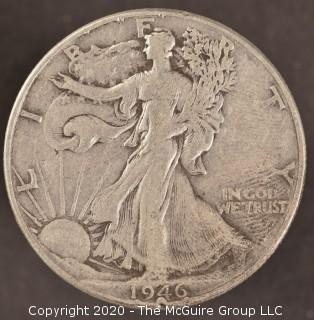 1946 Liberty Walking Half Dollar