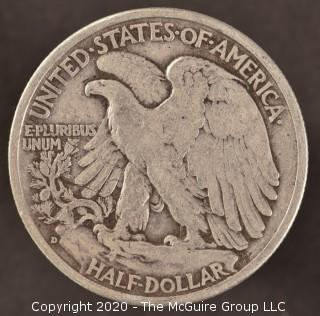 1943-D Liberty Walking Half Dollar