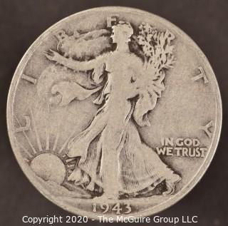 1943-S Liberty Walking Half Dollar