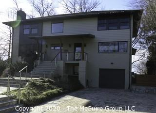 Real Property Auction - 6038 Little Falls Rd., Arlington, VA 22207   {Note: Some of the photos uploaded here show the next door neighbors home.  The current owner of the house said that they were identical before they remodeled; posted 03.16.2020 @ 1:32pm ET}