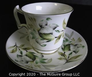 Porcelain English Bone China Teacup and Saucer made by Royal Chelsea.