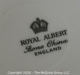 Porcelain Bone China Teacup and Saucer made by Royal Albert in England.
