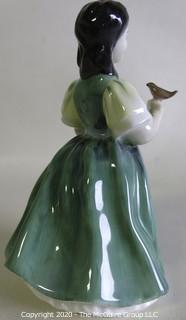 "Vintage Royal Doulton Porcelain Figurine ""Francine"". Measures approximately 5 1/2"" tall."