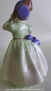 "Vintage Royal Doulton Porcelain Figurine ""Babie"". Measures approximately 5"" tall."